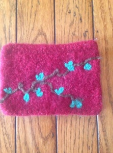 First attempt at needle-felting