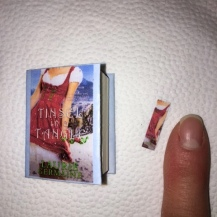 Yes, that is a teensy-tiny bookmark.