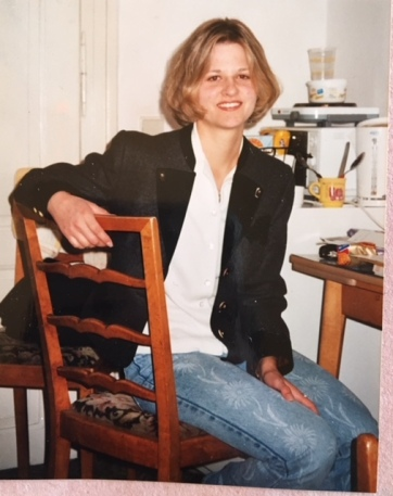 Twenty-year-old me. I LOVED those jeans!